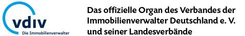 Das offizielle Organ des Verbandes der Immobilienverwalter Deutschlande e.V. und seiner Landesverbände